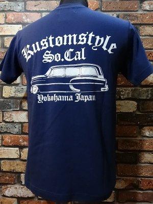 kustomstyle カスタムスタイル Tシャツ (KST1516IND) handyman  カラー:インディゴブルー