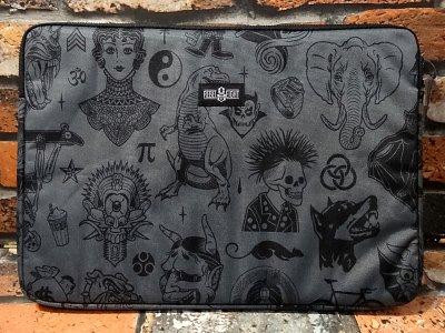 rebel8 レベルエイト 総柄 スリーブバッグ   giant flash laptop sleeve