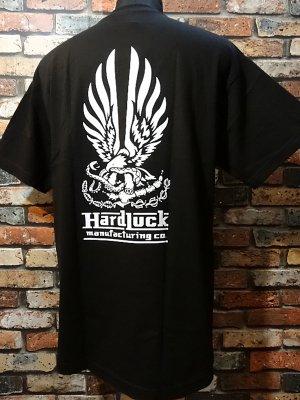 hard luck ハードラック  Tシャツ (hrad bond) カラー:ブラック