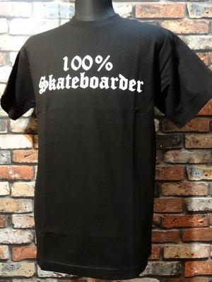 hard luck ハードラック Tシャツ (100 percent) カラー:ブラック