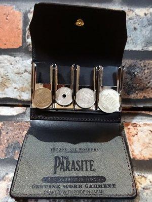 parasite パラサイト レザーコインキャッチャー(coin catcher) カラー:ブラック
