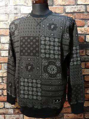 famous stars and straps   クルーネック スウェットトレーナー  (Honeycomb Crewneck Fleece)  カラー:ブラック