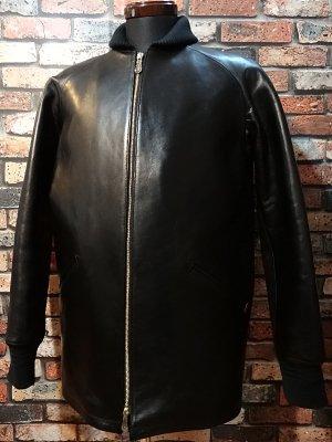 parasite パラサイト ホースハイド レザーファラオジャケット(horse hide pharaoh jacket)  カラー:ブラック