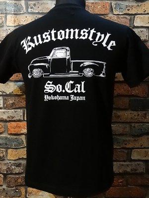 kustomstyle カスタムスタイル Tシャツ (KST1602BK) la troca  カラー:ブラック
