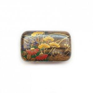 蒔絵帯留(秋草)