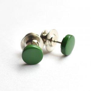 ボタンダウンピアス Color 緑
