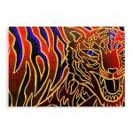 壁画ポストカード〈Red Tiger〉
