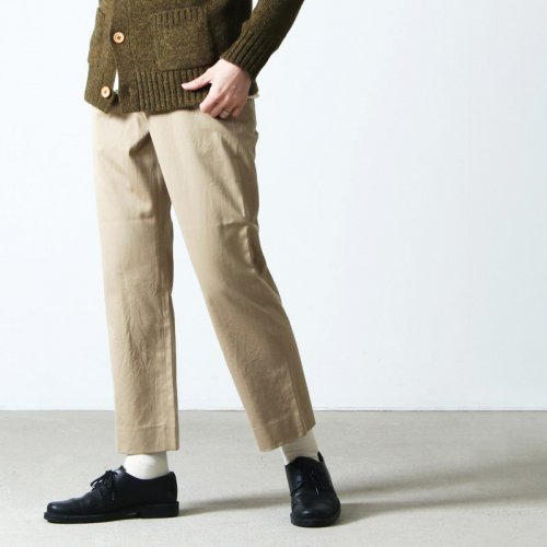 YAECA (ヤエカ) CHINO CLOTH PANTS WIDE TAPERED