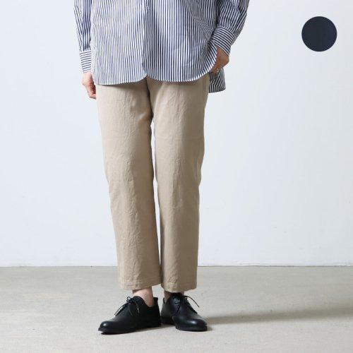 YAECA (ヤエカ) CHINO CLOTH PANTS WIDE TAPERED / チノクロスパンツワイドテーパード