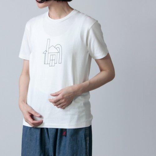 YAECA (ヤエカ) Ken Kagami PRINT TEE-sandwich- / ケンカガミ プリントTシャツ サンドウィッチ