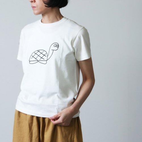 YAECA (ヤエカ) Ken Kagami PRINT TEE cimney / ケンカガミプリントティーチムニー