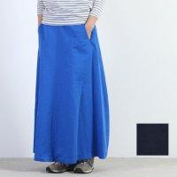 SI-HIRAI (スーヒライ) スーパーシルキーフィニッシュリネンコットンロングスカート