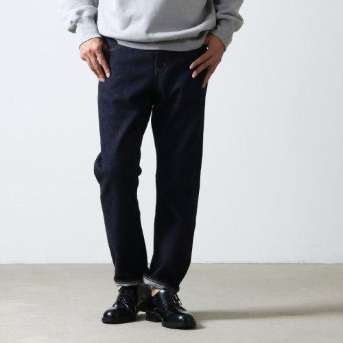 YAECA (ヤエカ) 15-14W STANDARD DENIM PANTS / スタンダードデニムパンツ