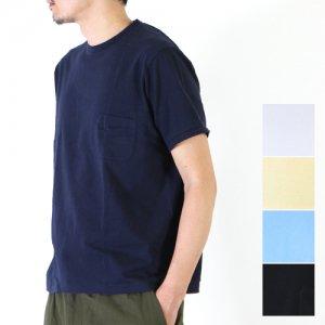 【30% OFF】 YAECA (ヤエカ) CREW NECK POCKET TEE / クルーネックポケットTシャツ
