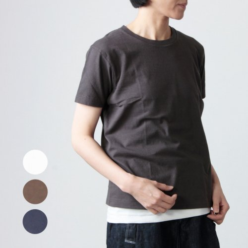 YAECA (ヤエカ)  CREW NECK POCKET TEE