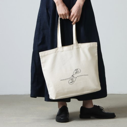 YAECA (ヤエカ) WRITE BACKETS BAG / ライトバケットバッグ