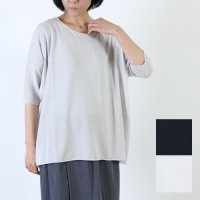 evameva (エヴァムエヴァ) High gauge cotton pullover