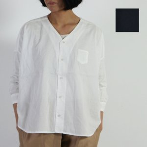 Ordinary Fits (オーディナリーフィッツ) Vneck BARBER SHIRT