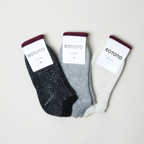 RoToTo (ロトト) Washi Pile Socks Short