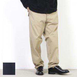 YAECA (ヤエカ) WIDE TAPERED CHINO CLOTH PANTS / ワイドテーパードチノクロスパンツ