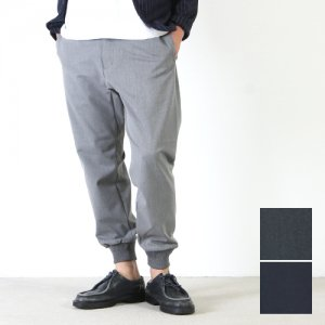 【30% OFF】 YAECA (ヤエカ) CONTEMPO 2WAY RIB PANTS / コンテンポ 2ウェイ リブパンツ