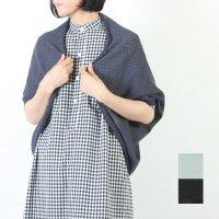 evameva (エヴァムエヴァ) Hemp yarn bolero