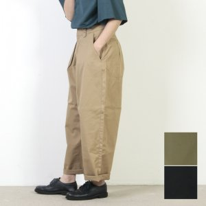 MidiUmi (ミディウミ) タックチノパンツ