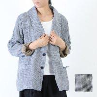 ICHI Antiquites (イチアンティークス) ギンガムチェック シャツジャケット