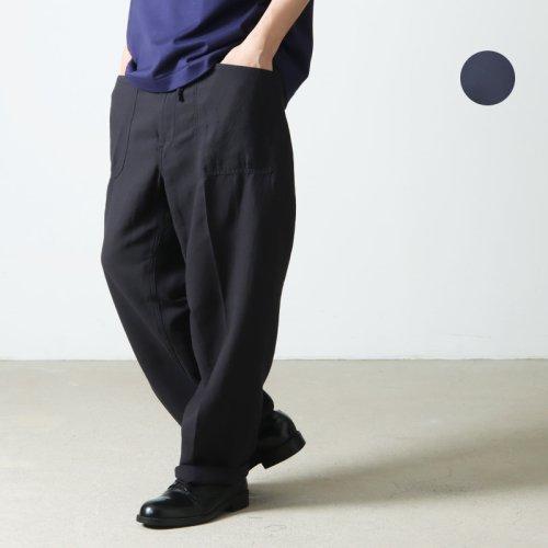 [THANK SOLD] KAPTAIN SUNSHINE (キャプテンサンシャイン) Baggy Cut Straight Denim Pants / バギーカットストレートデニムパンツ