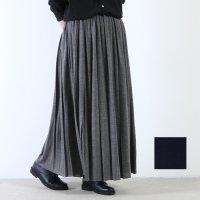 mizuiro ind (ミズイロインド) プリーツロングスカート