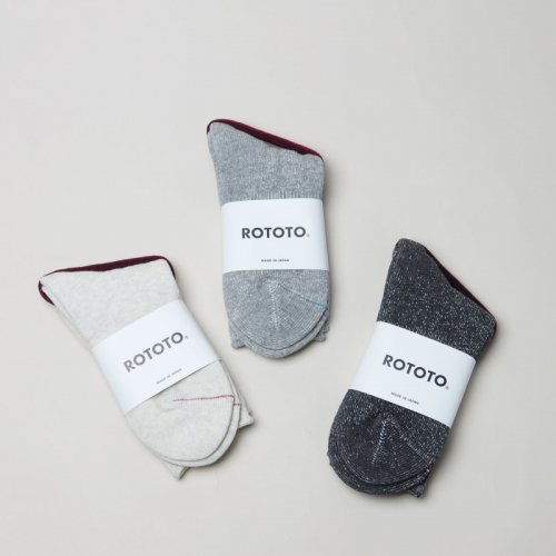 RoToTo (ロトト) WASHI PILE SOCKS