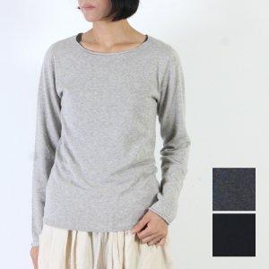 evameva (エヴァムエヴァ) cotton cashmere Pullover / コットンカシミアプルオーバー
