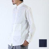 nisica (ニシカ) スタンドカラーシャツ