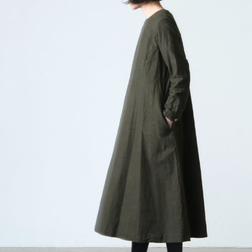 YAECA (ヤエカ) WRITE A LINE DRESS / ライトAラインドレス