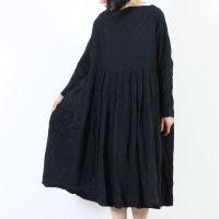 [THANK SOLD] jujudhau (ズーズーダウ) TUCK DRESS / タックドレス