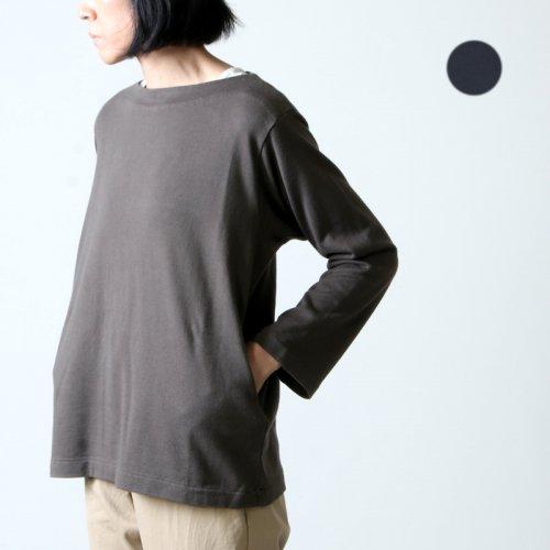 YAECA (ヤエカ) STOCK BASQUE SHIRT LONG / ストックバスクシャツロング