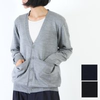 MASTER & Co. (マスターアンドコー) WHOLE GARMENY WASHABLE KNIT CARDIGAN