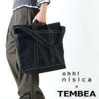 【30% OFF】 ohh nisica (オオニシカ) TEMBEA×ohh!nisica キャンバスバッグ large / テンベア×オオニシカ キャンバスバッグ ラージ