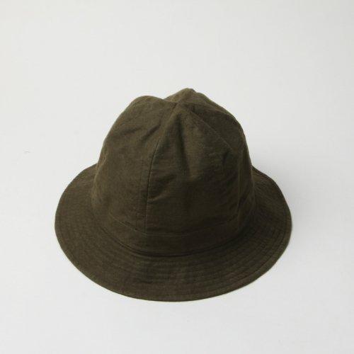 YAECA (ヤエカ) WRITE HAT HIGH Cotton Linen / ライトハットハイコットンリネン