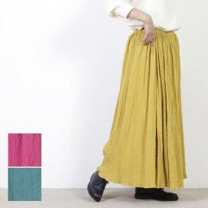 ina (イナ) コットンビンテージワッシャーギャザースカート