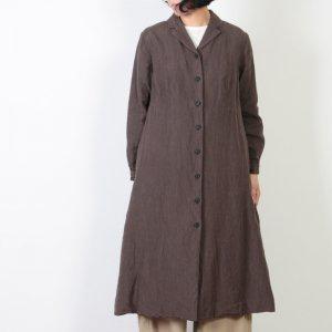 YAECA (ヤエカ) WRITE LAPEL COAT DRESS / ライトラペルコートドレス