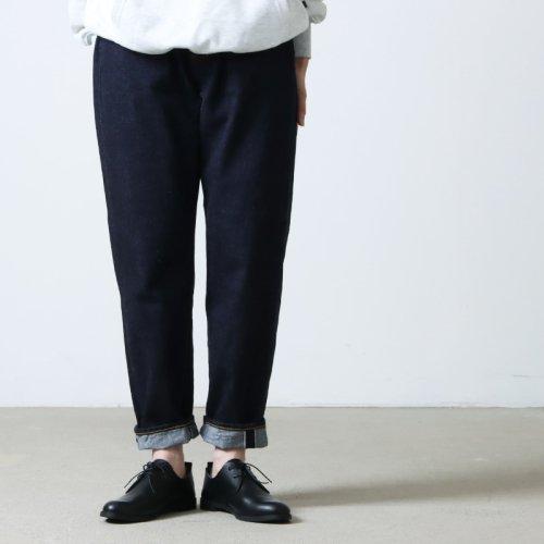 [THANK SOLD] YAECA (ヤエカ) DENIM PANTS WIDE TAPERED 13oz / デニムパンツワイドテーパード13オンス