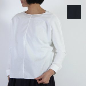 evameva (エヴァムエヴァ) Cotton dolman pullover