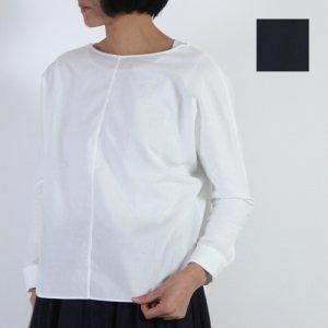 evameva (エヴァムエヴァ) Cotton dolman pullover