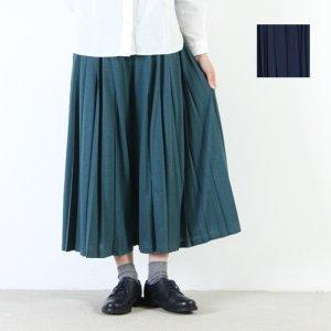 MidiUmi (ミディウミ) プリーツワイドパンツ