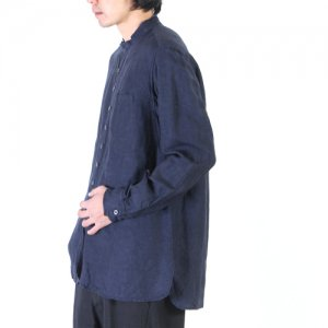 KLASICA (クラシカ) SH-021 / カットオフスタンドカラーシャツ
