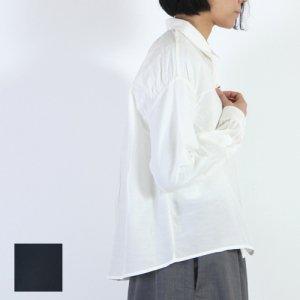 【30% OFF】 mizuiro ind (ミズイロインド) コットンシルクシャツ