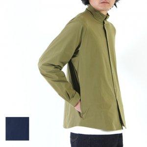 【30% OFF】 YAECA (ヤエカ) STAND COLLOR SHIRT JACKET / スタンドカラーシャツジャケット