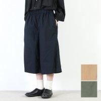 style + confort (スティールエコンフォール) ホースクロスクロップドワイドパンツ