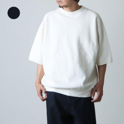 KAPTAIN SUNSHINE (キャプテンサンシャイン) Navy Yard Neck Tee / ネイビーヤードネックTシャツ